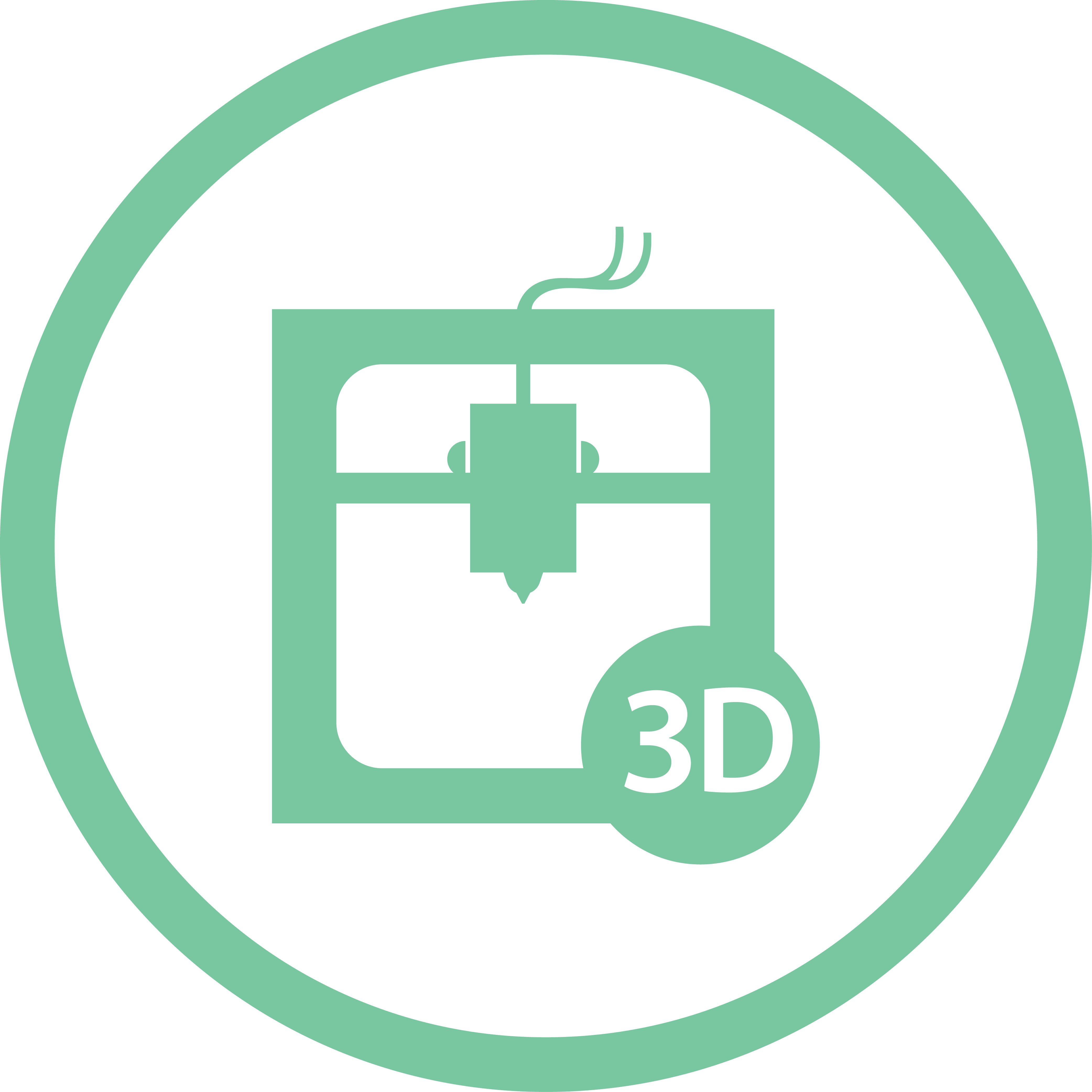 3D Printing & Prototyping Icon