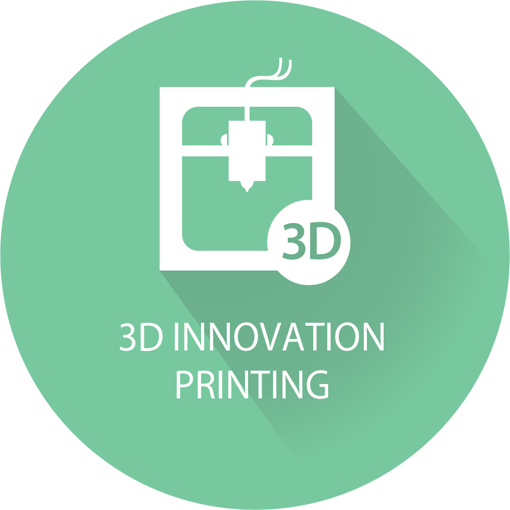 3D prinitng & Prototyping Icon