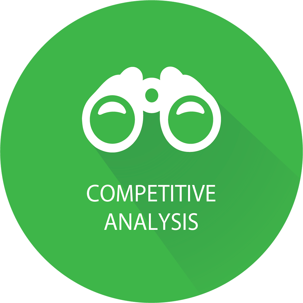 In-Depth Competitive Analysis Icon