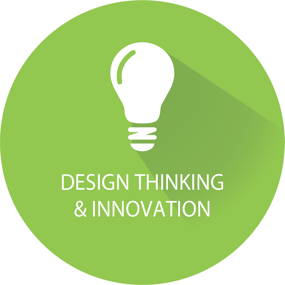 Design Thinking & Innovation Icon