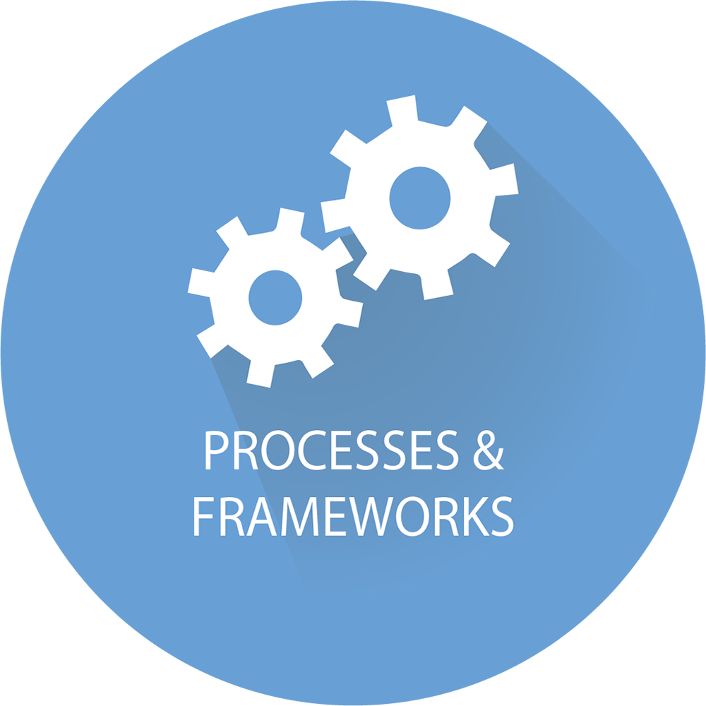 Processes & Framework Icon