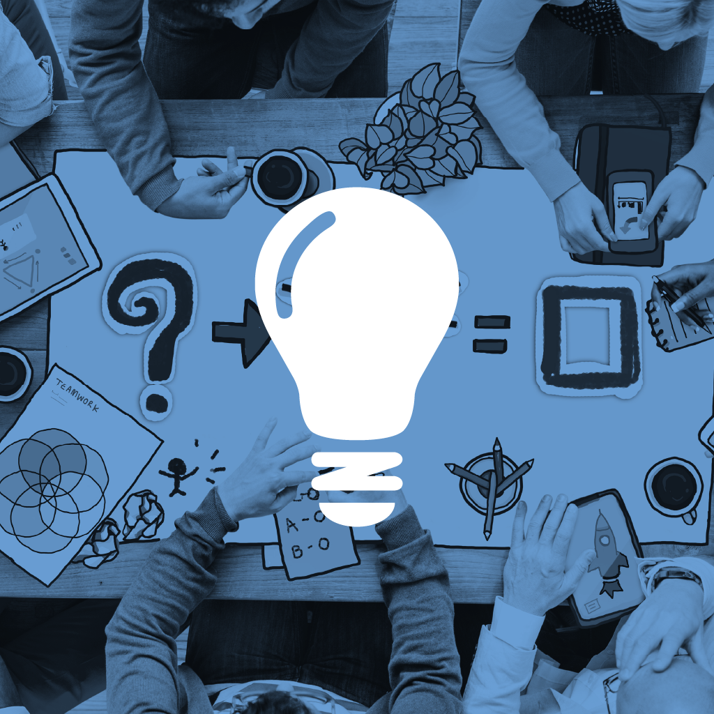 Design Thinking & Innovation Icon